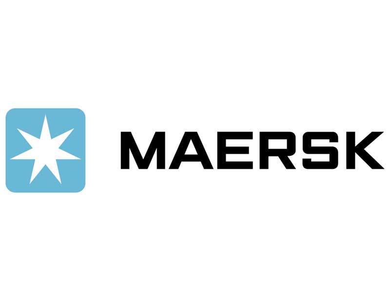 Black Flag Signs Maersk