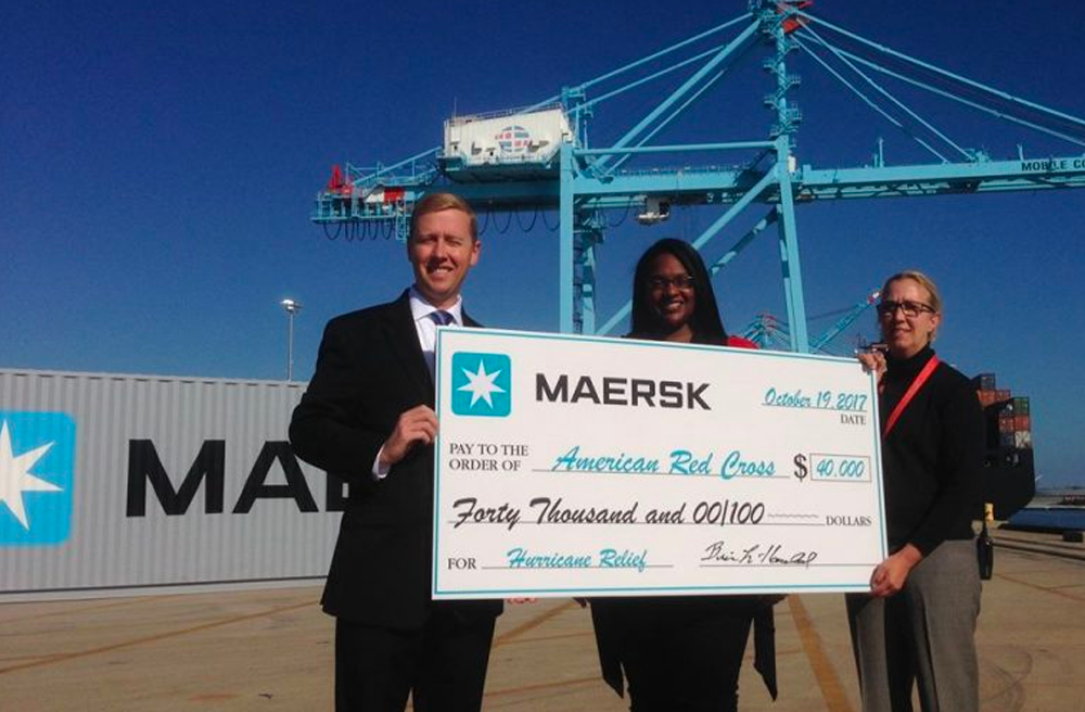 Maersk Donates to American Red Cross for Hurricane Relief